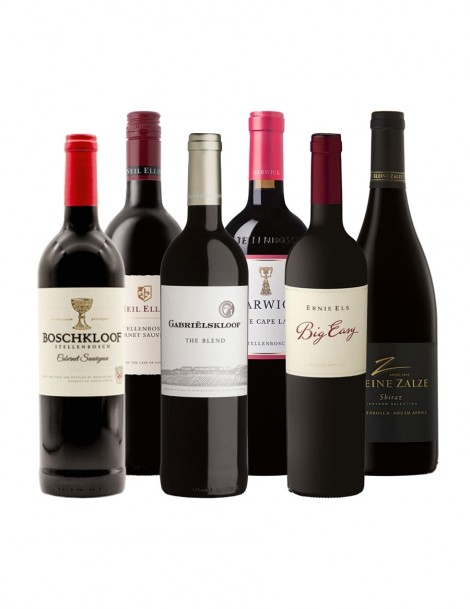 KapWeine - ECONOMY FLEX ROT 2019 - Neil Ellis_Cabernet Sauvignon - Boschkloof_Cabernet Sauvignon - Ernie Els_Big Easy - Kleine Zalze_Vineyard Selection_Shiraz - Warwick_Three Cape Ladies - Gabrielskloof_The Blend