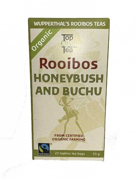 Wupperthal's Rooibos Tea Honeybush and Buchu - 20 Beutel - Best Before November 21