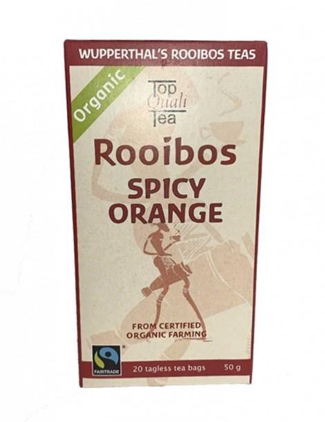 Wupperthal's Rooibos Tea Spicy Orange - 20 Beutel - Best Before März 21