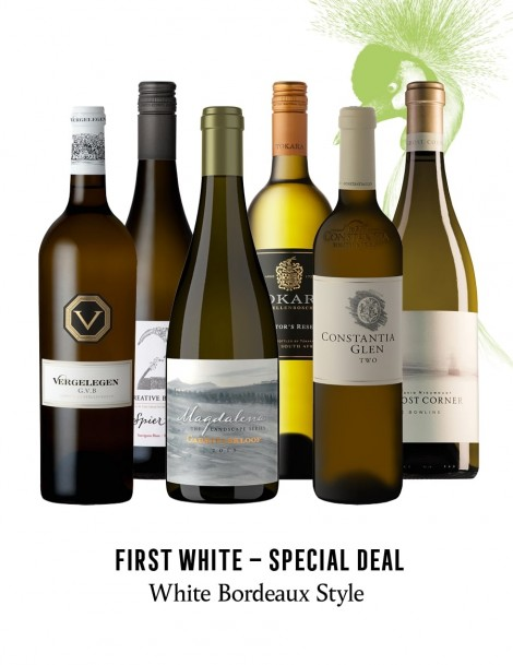 KapWeine - SPECIAL DEAL - 7180 FIRST BORDEAUX STYLE WHITE SET 2021