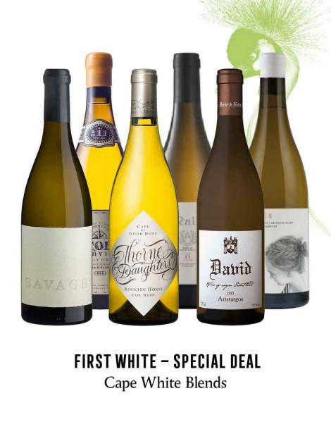 KapWeine - Special Deal - 7181 FIRST CAPE WHITE BLENDS SET 2020 -