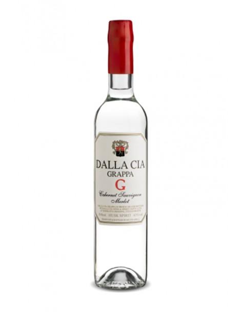 Dalla Cia - Husk Brandy aus Cabernet Sauvignon / Merlot - 2013 Abfüllung