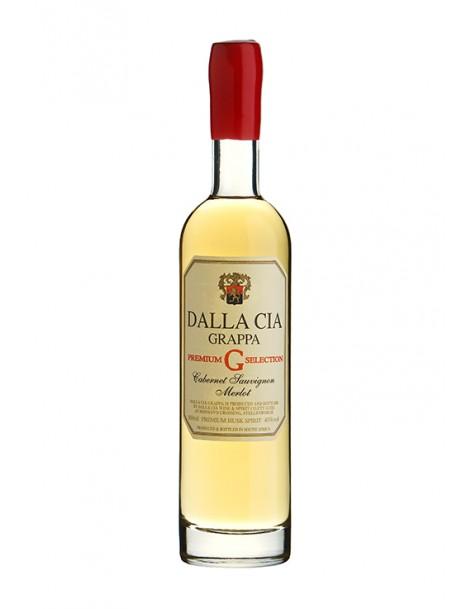 Dalla Cia Grappa Cabernet Sauvignon / Merlot Premium