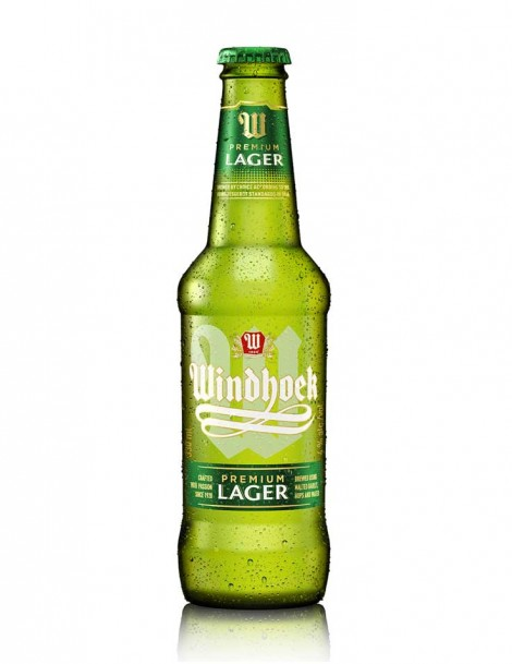 Windhoek Lager Beer - best before Juli 2020