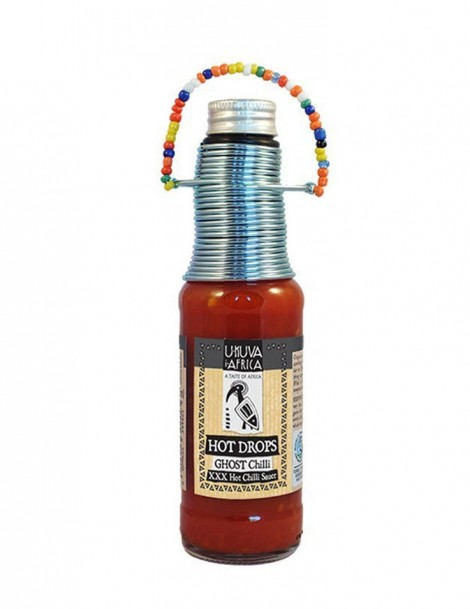 Ukuva HOT DROPS Ghost Chili 125ml - BB 2021