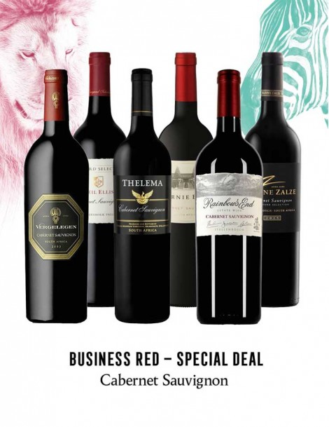 KapWeine - Special Deal - 7298 BUSINESS CABERNET SAUVIGNON SET 2020 -