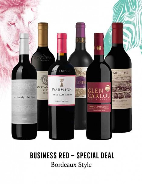 KapWeine - Special Deal - BUSINESS BORDEAUX STYLE SET 2020 - 7300