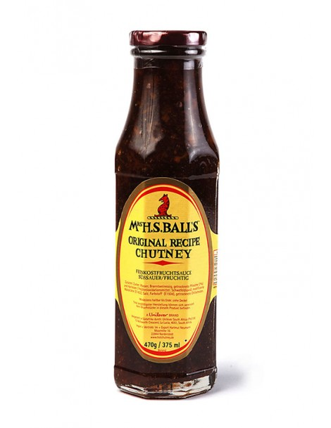 Mrs. Ball's Chutney Sauce - Original - BB Februar 2022