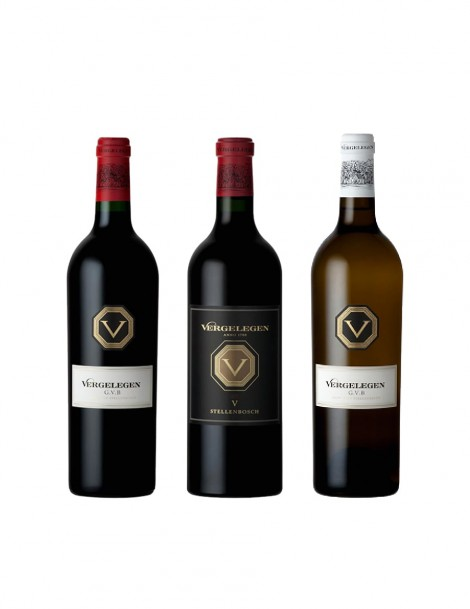 KapWeine - 7427 Vergelegen 3er Tasting Set Top