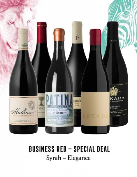 KapWeine - Special Deal - 7447 BUSINESS SYRAH ELEGANCE SET 2020