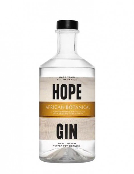 Hope On Hopkins African Botanical Gin - plus 1 Gratisflasche Barker & Quin Marula Tonic Water - plus 1 Gratisflasche Fitch & Leedes Grapefruit Tonic Water