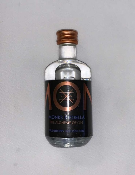 Monks Gin Medella - Heidelbeeren - Blueberries - Mini 5cl