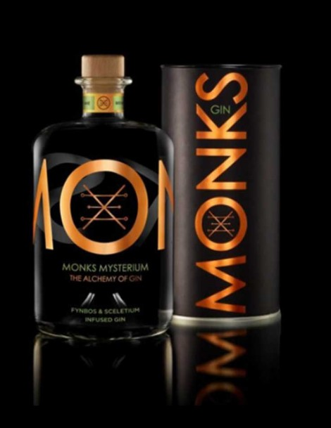 Monks Gin Mysterium - Fynbos