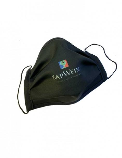 KapWeine - Mundschutzmaske mit KapWeine Logo
