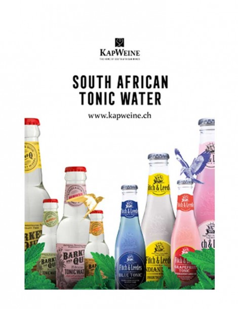 KapWeine - South Africa Tonic Water 8er Tasting Set (8x20cl)