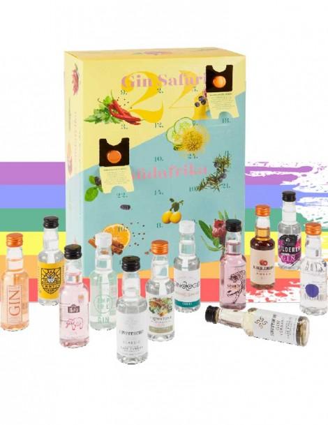 - KapWeine - Gin Safari Tasting Set mit 24 Fläschli a 5cl -
