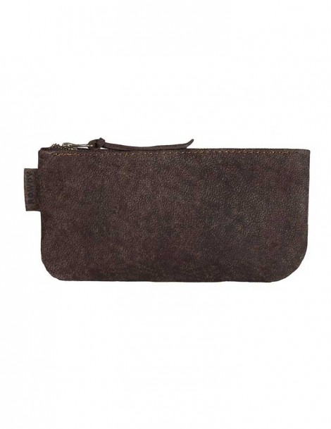 Rowdy Bag Leder Etui - Farbe Root - Masse 215 X 110 X 15 mm