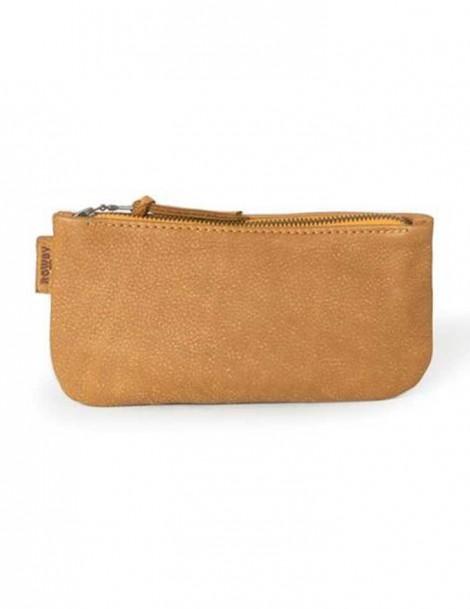 Rowdy Bag Leder Etui - Farbe Desert - Masse 215 X 110 X 15 mm