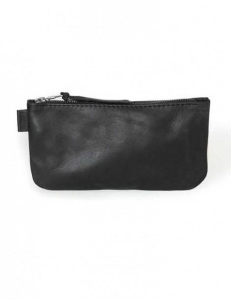 Rowdy Bag Leder Etui - Farbe Charcoal - Masse 215 X 110 X 15 mm