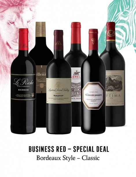 KapWeine - Special Deal - 7301 BUSINESS BORDEAUX STYLE CLASSIC SET 2020