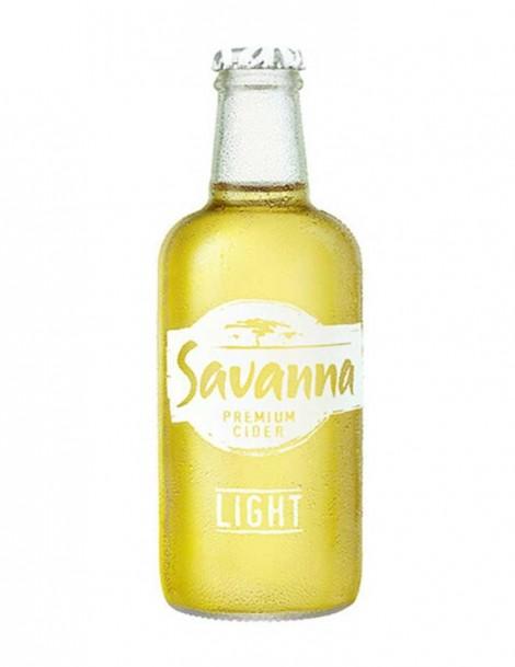 -AA Savanna Dry Apfelcider LIGHT 33cl - 3% Alk.
