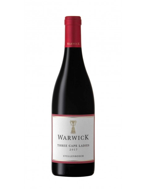 Warwick Three Cape Ladies - NEUES CUVÉE: 66% Cabernet - 22% Pinotage - 12% Merlot - 2017