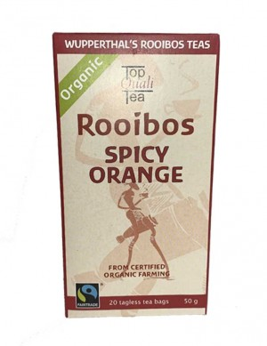 Wupperthal's Rooibos Tea Spicy Orange - 20 Beutel - Best Before Dezember 2023