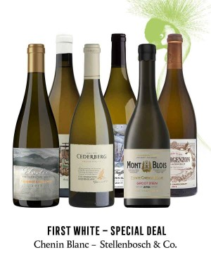 KapWeine - SPECIAL DEAL - 7176 FIRST CHENIN BLANC STELLENBOSCH & CO SET 2020 -