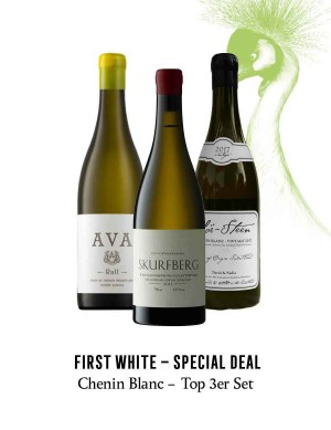KapWeine - SPECIAL DEAL - 7182 FIRST CHENIN BLANC TOP 3ER SET 2020 -