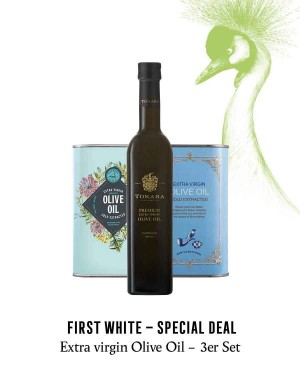 KapWeine - FIRST OLIVE OIL 3ER SET - BEST BEFORE 2021 -