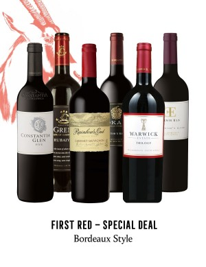 KapWeine - Special Deal - 7165 FIRST BORDEAUX STYLE RED SET 2021