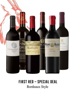 KapWeine - Special Deal - 7165 FIRST BORDEAUX STYLE RED SET 2020 -