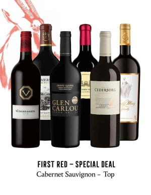 KapWeine - SPECIAL DEAL - 7171 FIRST CABERNET SAUVIGNON TOP SET 2020 -