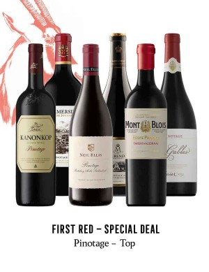 KapWeine - SPECIAL DEAL - 7173 FIRST PINOTAGE SET 2020