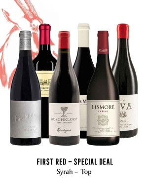 KapWeine - SPECIAL DEAL - 7169 FIRST SHIRAZ TOP SET 2020 -