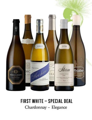 KapWeine - SPECIAL DEAL - 7174 FIRST CHARDONNAY ELEGANCE SET 2020