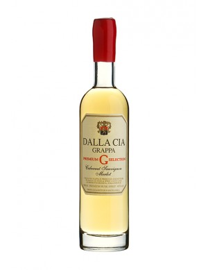Dalla Cia - Husk Brandy aus Cabernet Sauvignon / Merlot Premium - 2013 Abfüllung