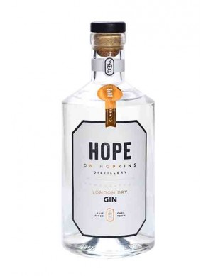 Hope On Hopkins London Dry Gin - plus 1 Gratisflasche Barker & Quin Marula Tonic Water - plus 1 Gratisflasche Fitch & Leedes Pink Tonic