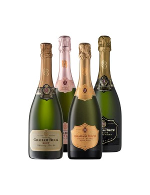 KapWeine - 6863 Graham Beck 4er VALUE Tasting Set Brut