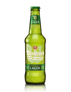 Windhoek Lager Beer - Best Before Mai 2020 -