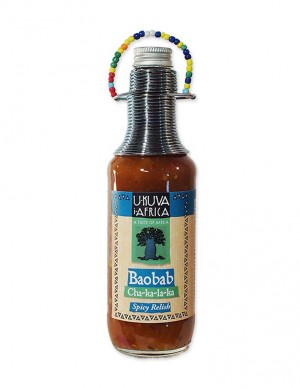 Ukuva Boabab Chakalaka Sauce 240ml - BB August 2022