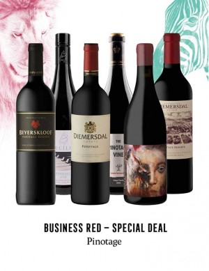- KapWeine - Special Deal - 7296 BUSINESS PINOTAGE SET 2020 -