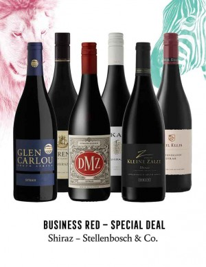 - KapWeine - Special Deal - 7297 BUSINESS SHIRAZ STELLENBOSCH & CO SET 2020 -