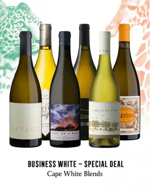 - KapWeine - Special Deal - 7303 BUSINESS CAPE WHITE BLEND 2020 -