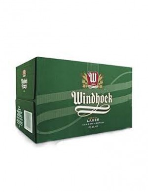 Windhoek Lager Beer 1 Karton à 24 Stk. zu 3.20 CHF = CHF 76.80 - best before Juli 2020
