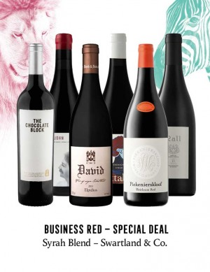 KapWeine - Special Deal - 7448 BUSINESS SYRAH BLEND SWARTLAND & CO SET 2020