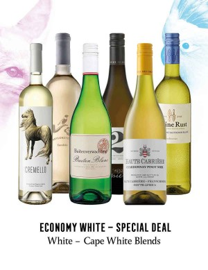 - A KapWeine - Special Deal - 7567 Economy Cape White Blend Set 2020 -