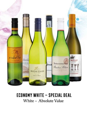 KapWeine - Special Deal - 7569 Economy Absolute Value White 2020