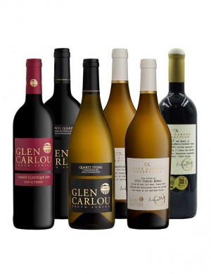 - KapWeine - 7571 Glen Carlou Wine of the Year 6erTOP END Tasting Set