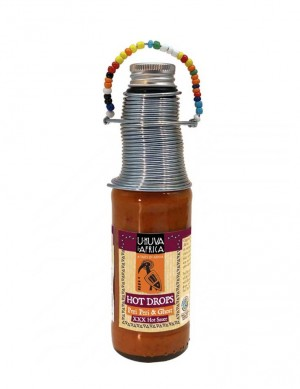 Ukuva HOT DROPS Peri Peri 125ml - BB FEB 20222